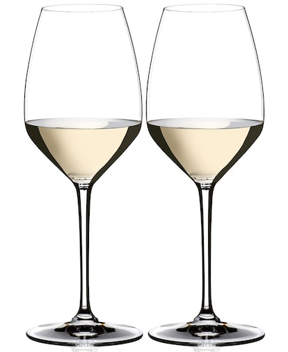 Set of 2 Heart to Heart Riesling Glasses