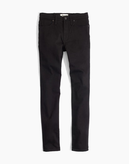 "9"" High-Rise Skinny Jeans in ISKO Stay Black™"
