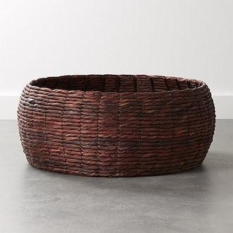Cayo Black and Plum Purple Basket