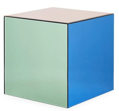 Chroma Cube Accent Table in Multicolor