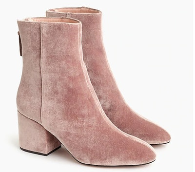 Sadie Ankle Boots In Hthr Blush