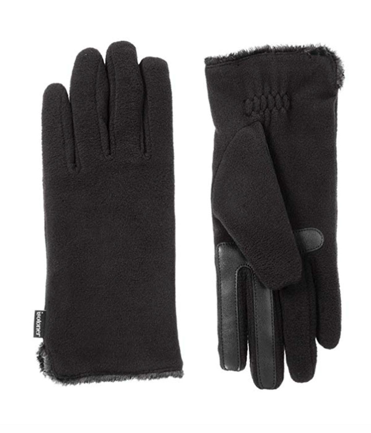 Isotoner Women's Stretch Fleece Touchscreen Gloves