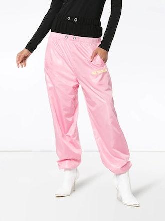 Double-Waisted Track Pants