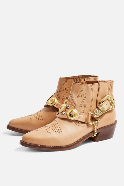 Axe Pointed Western Boot