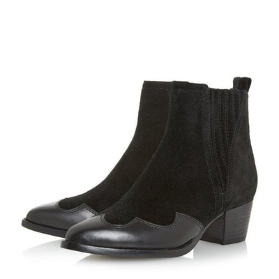 Papio Western Cowboy Ankle Boot