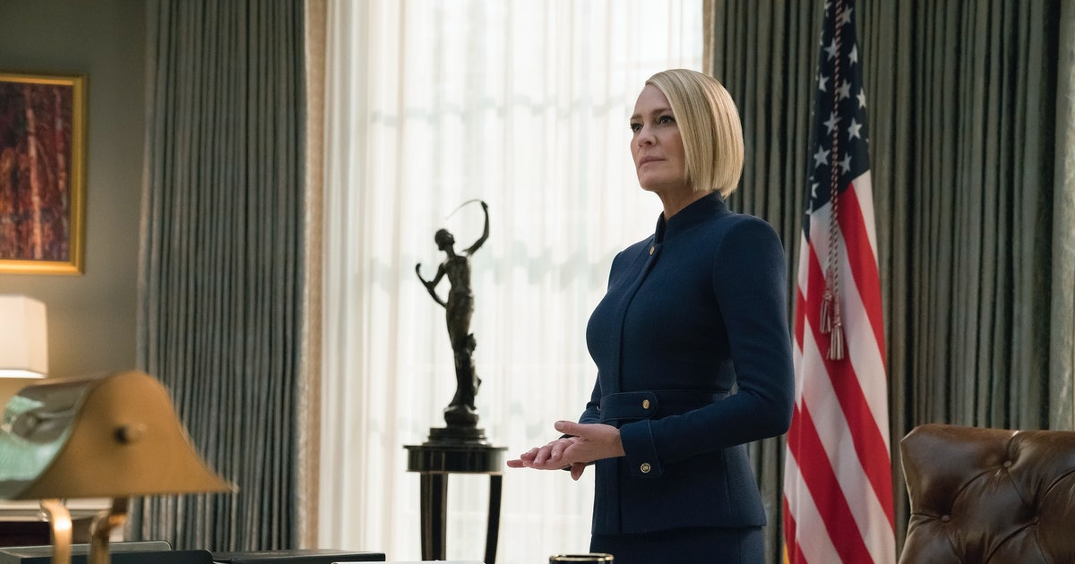 Robin Wright Directed The 'House Of Cards' Finale, Showing She's In Control Of The Series' Final Season