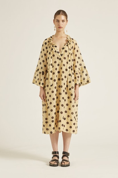 Minnie Spot Cotton Dress