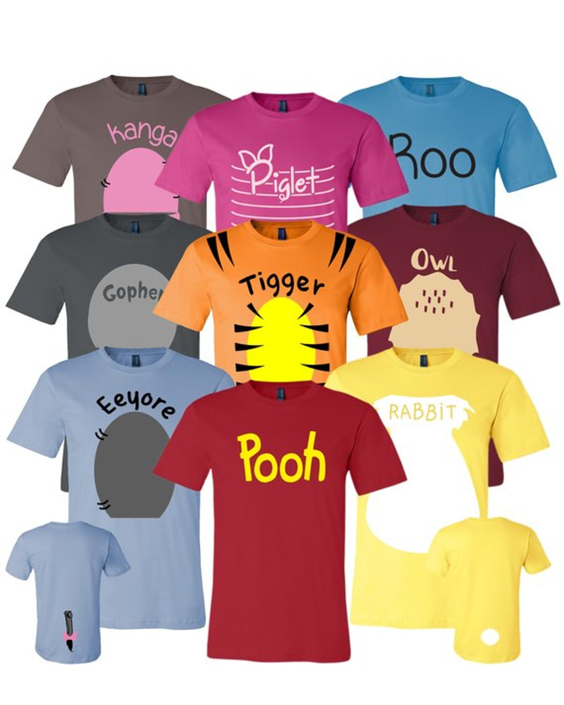 Winnie the Pooh & Friends Costumes ($14 each)