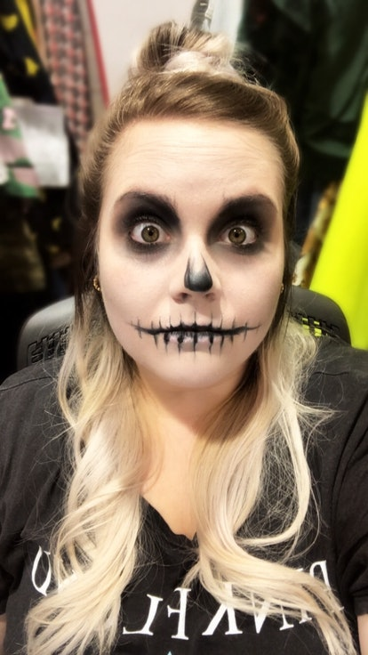 A skeleton makeup look for Halloween is easier to do than you think, as long as you have the right s...