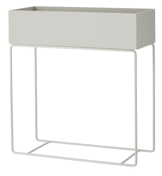 Wimina Plant Box, Light Gray
