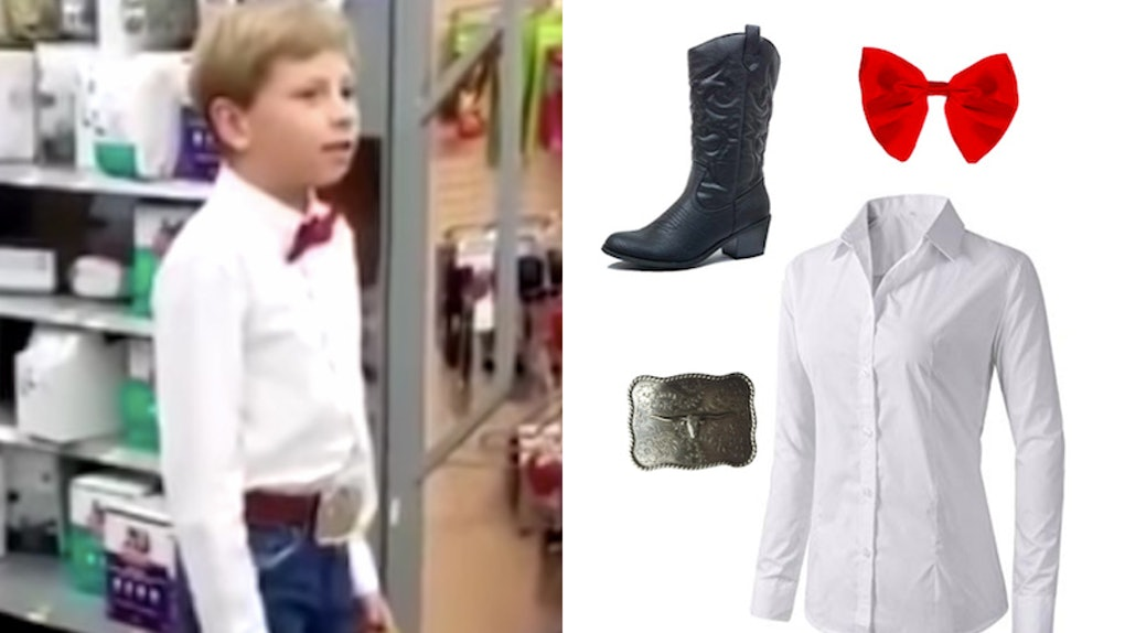 ff081bcbd This Walmart Yodeling Kid Halloween Costume Will Make You The Star Of The  Party