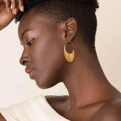 Mezi Drama Threader Earrings