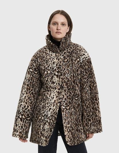 Shelter Faux Leopard Jacket