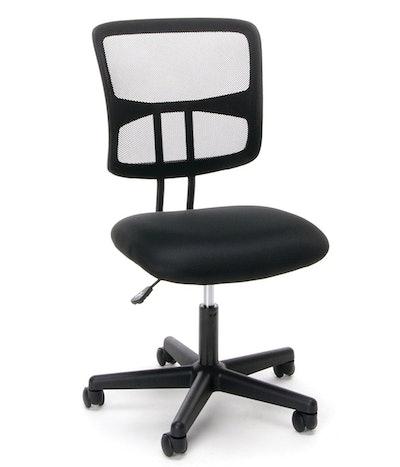 OFM Essentials Swivel Armless Chair
