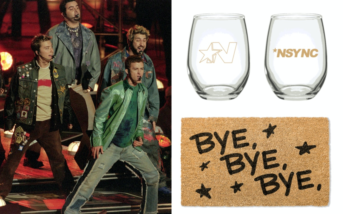 *NSYNC's New Merchandise Includes Homeware That All True '90s Babies Will Want Immediately