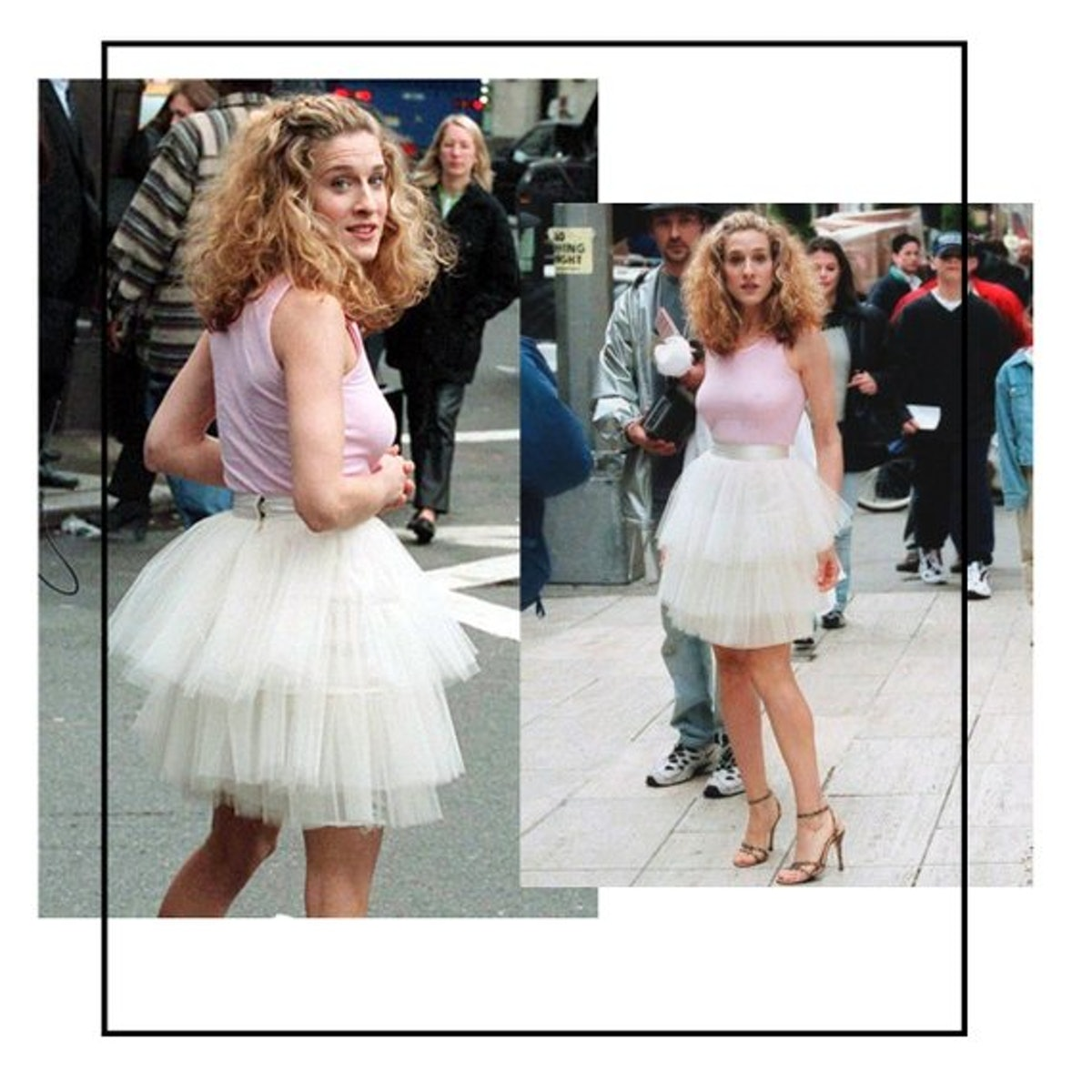 """Carrie Bradshaw from """"Sex And The City"""" costume"""
