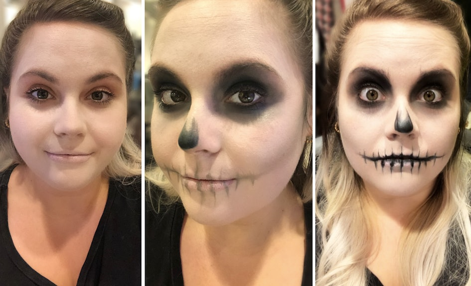 This Easy Skull Makeup Tutorial Is So Simple A Numskull Could Do It