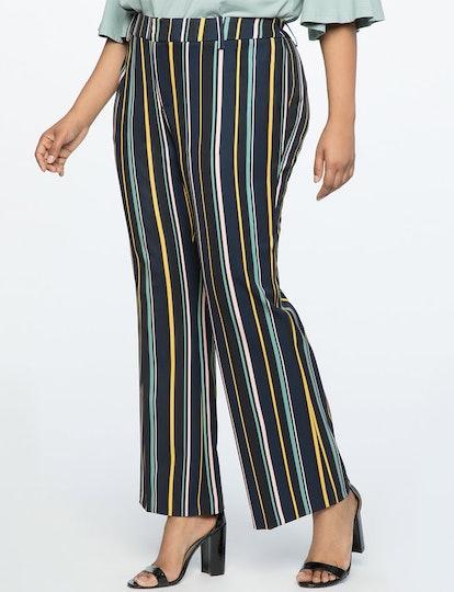 Stripe Wide Leg Pant