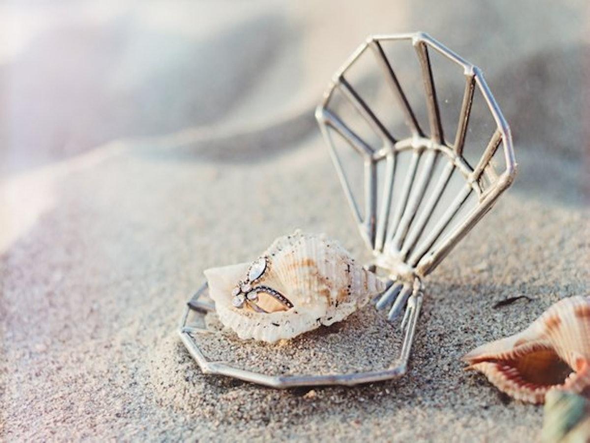 Seashell Ring Box