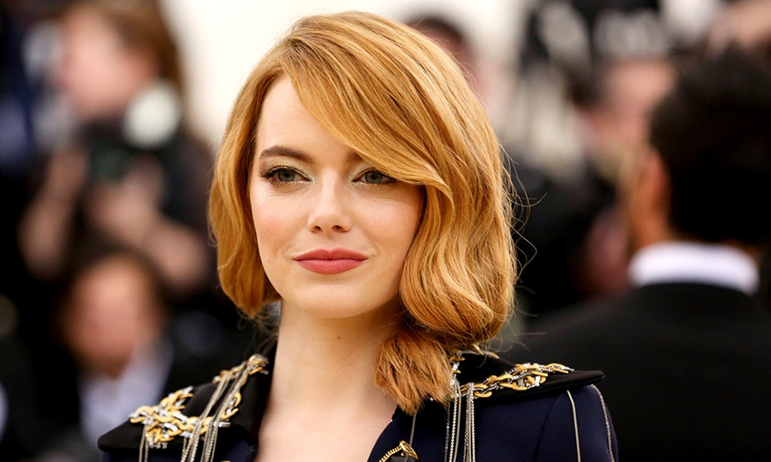 Emma Stone S Blunt Lob Haircut Is The Ultimate Inspiration For