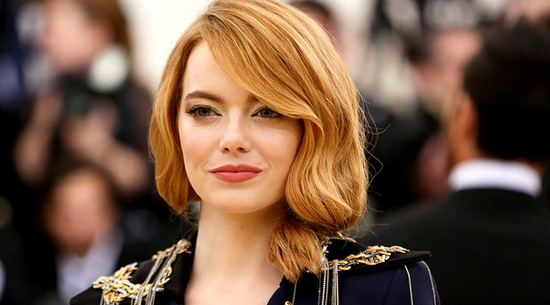 Emma Stones Blunt Lob Haircut Is The Ultimate Inspiration For