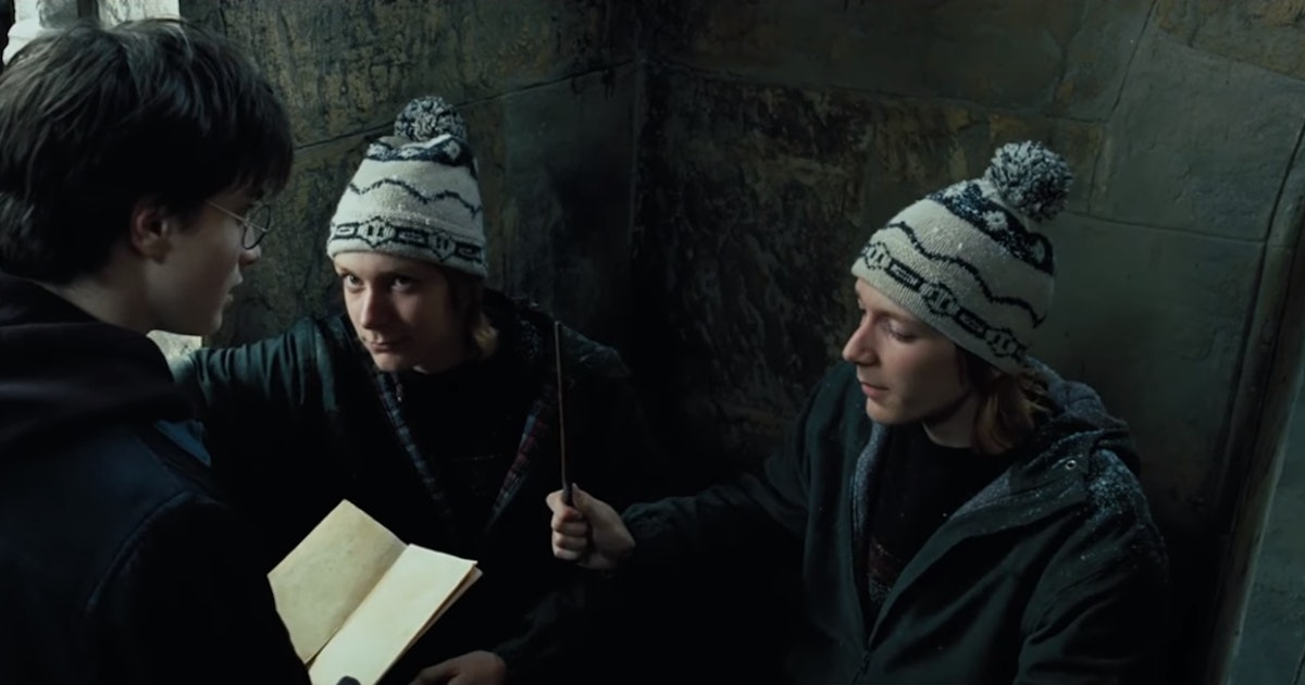 George Weasley's Favorite Harry Potter Scene Is Definitely Worth Looking Back On — VIDEO