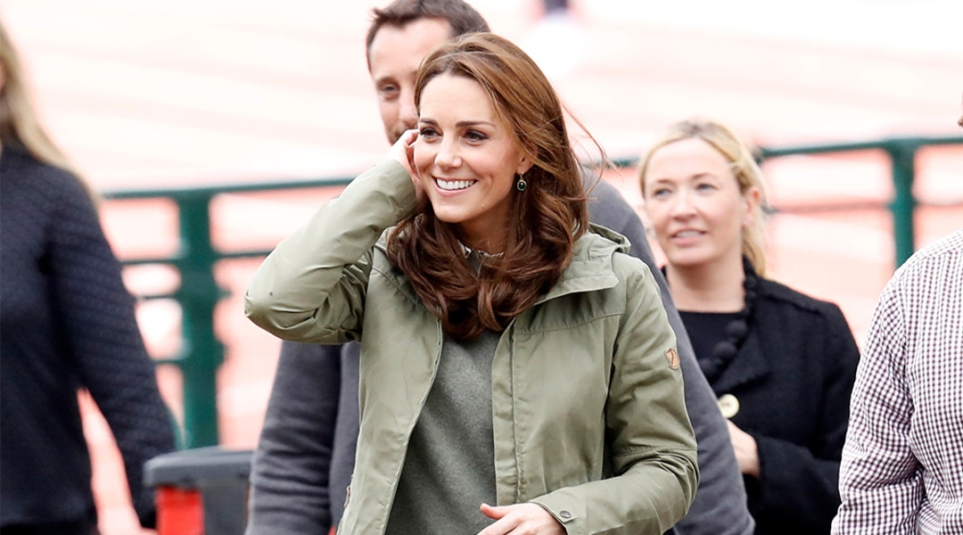 f734e6eb9ca0 Kate Middleton s Green Jacket Is One Of Her Most Casual Looks To Date (   It s Only  200)