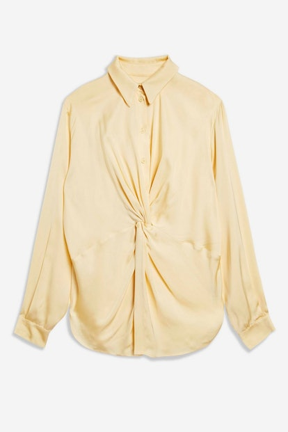 Twist Front Shirt by Boutique