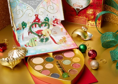 The Grinch Good Enough to Steal Face Palette & Color-Changing Lip Balm Set
