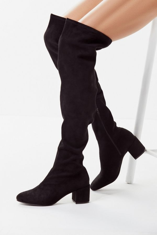 2f15209f903 Black Over-The-Knee Boots To Pair With Literally Everything In Your Fall  Wardrobe