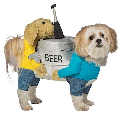 Beer Keg Pet Costume