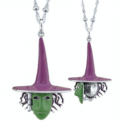 Shock Witch Mask Necklace