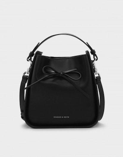 Bow Detail Drawstring Bag
