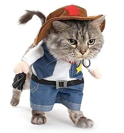 Meeyou Cowboy Pet Costume for Cat & Dog