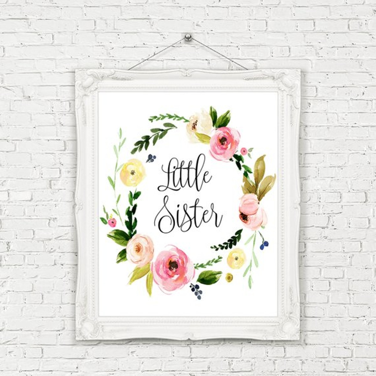 Little Sister Printable