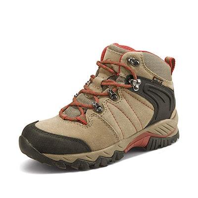 Clorts Women's Hiker Leather Waterproof Boots