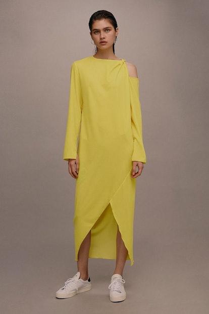 Velvet Twist Dress by Boutique
