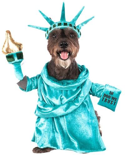 Statue of Liberty Pet Costume