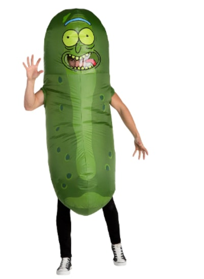Rick And Morty Pickle Rick Inflated Costume