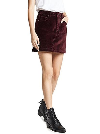 Georgia Velvet Skirt