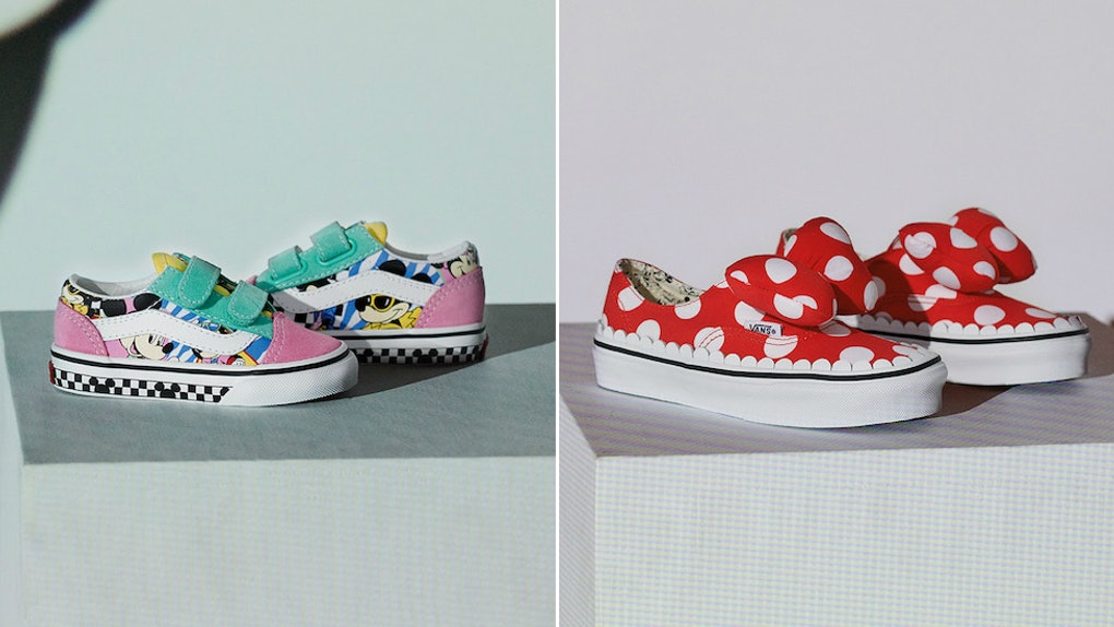 1e1e942df When Does The Vans x Disney Mickey Mouse Collection Drop? I Can Hear Mickey  Saying,