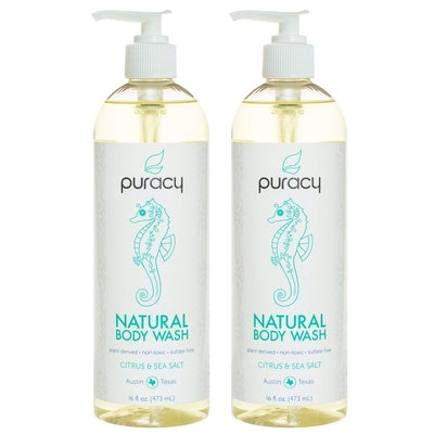 Puracy Natural Body Wash, 16 oz. (2 Pack)