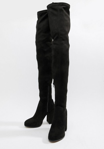 ASOS DESIGN Kassidy heeled over the knee boots
