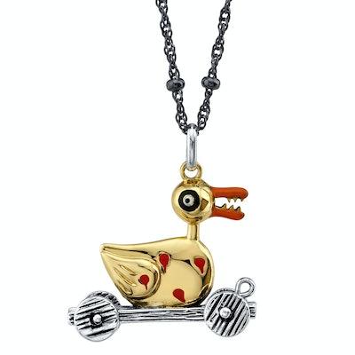 Zombie Duck Necklace