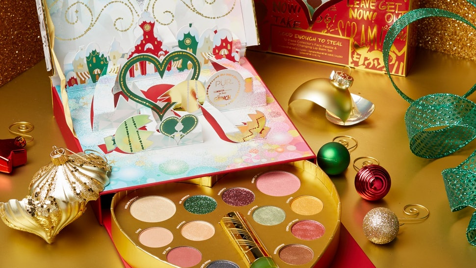 What Is In The PÜR x 'The Grinch' Makeup Collection? It Will Make You Feel So Festive
