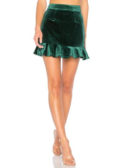 Lisa Velvet Skirt