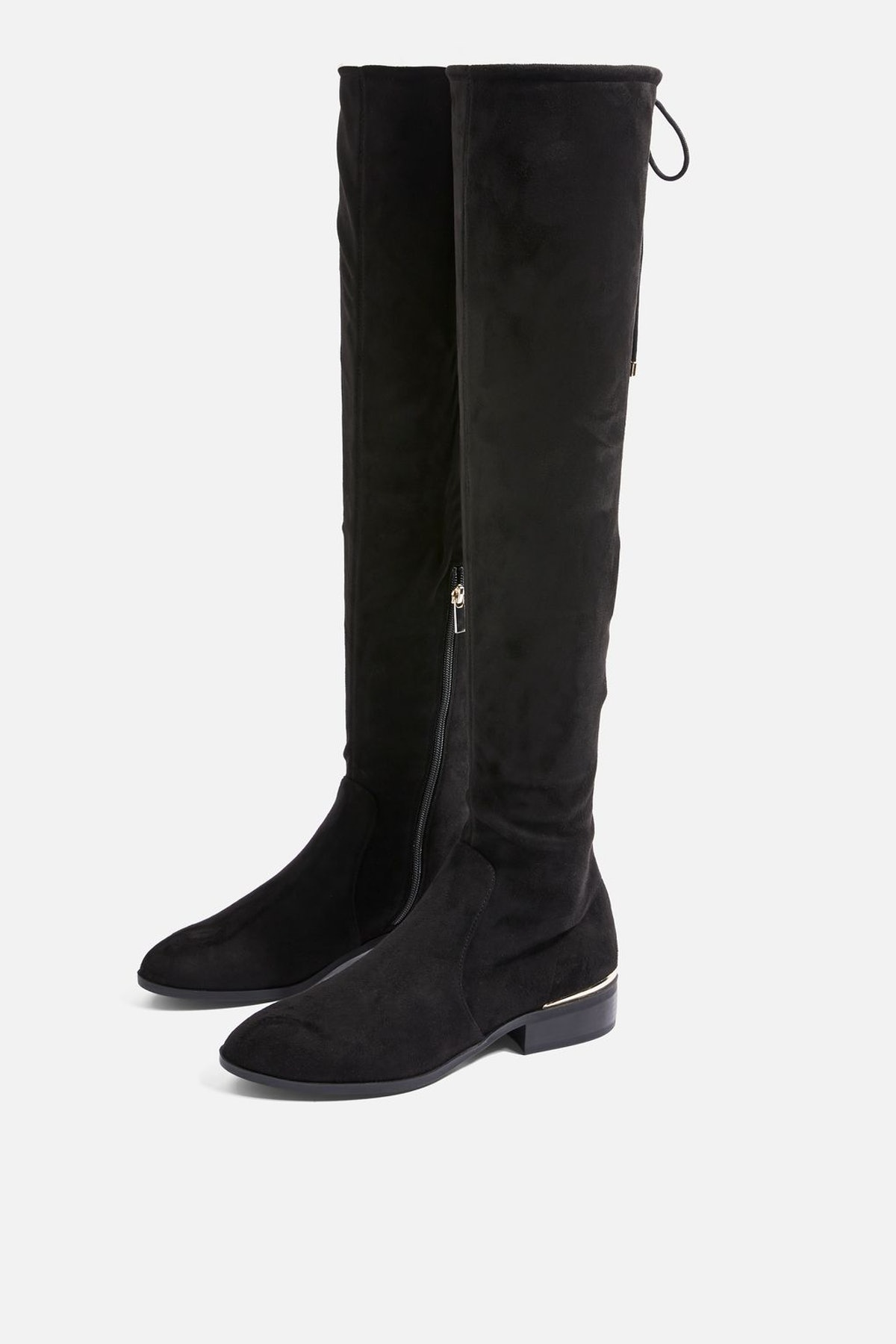 BEAU High Leg Flat Boots