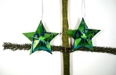 LaCroix Lime Sparkling Water Soda Can Aluminum Stars