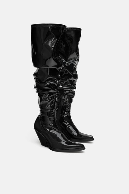 Over-The-Knee Cowboy Boots