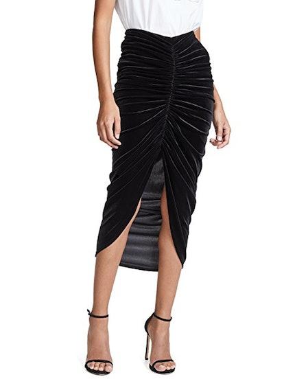 Any Seven Velvet Skirt